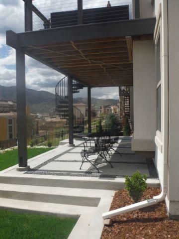 阳台现代风格装饰设计图片