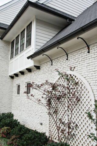 外墙美式风格装潢效果图