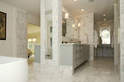 卫生间美式风格装潢设计图片