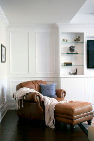 客厅美式风格装潢图片
