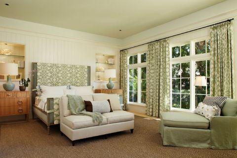 卧室美式风格装饰效果图