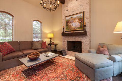 客厅美式风格装修图片