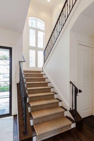 楼梯美式风格装修设计图片