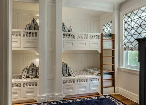 儿童房美式风格装修效果图