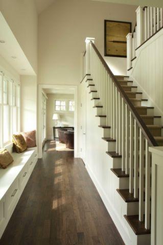 楼梯美式风格装潢图片