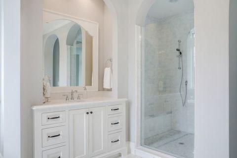 品质生活美式风格浴室装修效果图_土拨鼠2017装修图片大全