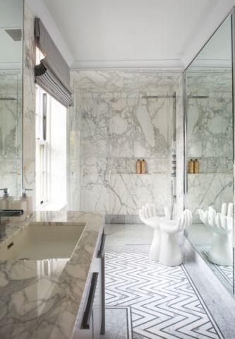 卫生间吊顶美式风格效果图