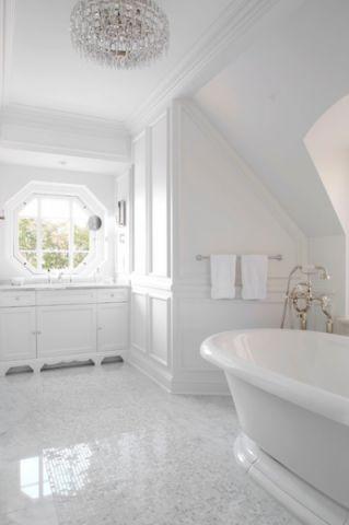 卫生间地砖美式风格装修效果图