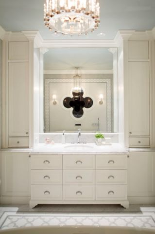 卫生间橱柜美式风格装饰效果图