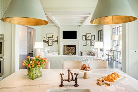 餐厅灯具美式风格装饰效果图