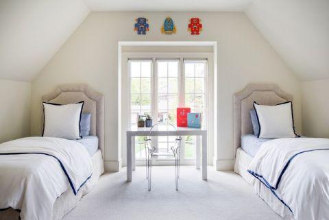 浪漫迷人美式风格卧室装修效果图