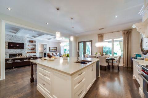 厨房地砖美式风格装饰图片