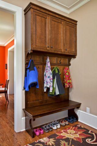 玄关衣柜美式风格装饰设计图片