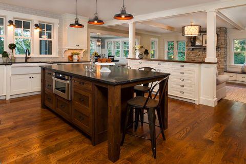 厨房厨房岛台美式风格效果图