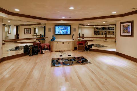 干净舒适美式风格客厅装修效果图_土拨鼠2017装修图片大全