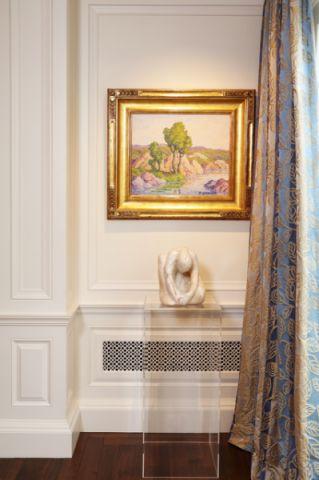 客厅照片墙美式风格装修效果图