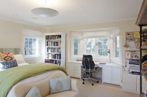 卧室吊顶美式风格装饰图片