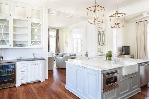 格调美式风格厨房装修效果图