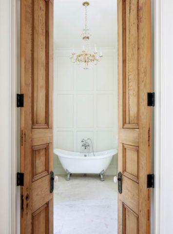 卫生间门厅美式风格装潢图片