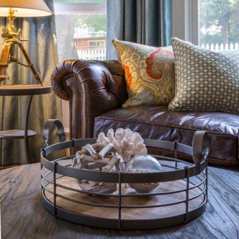奢华美式风格客厅装修效果图
