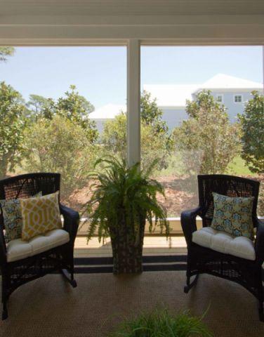 玄关窗台美式风格装潢设计图片