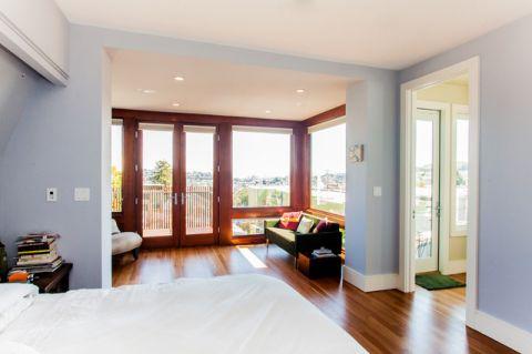 客厅门厅简欧风格装饰设计图片