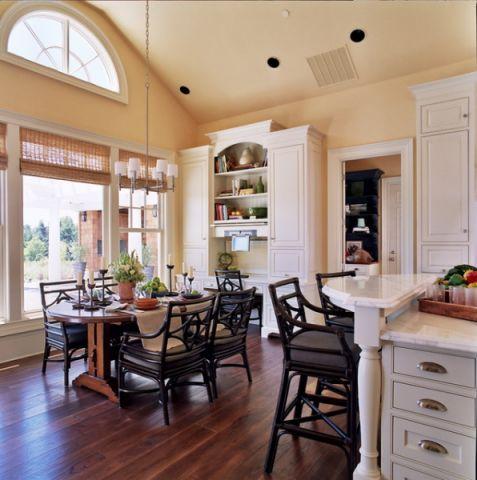 厨房吊顶简欧风格装饰设计图片