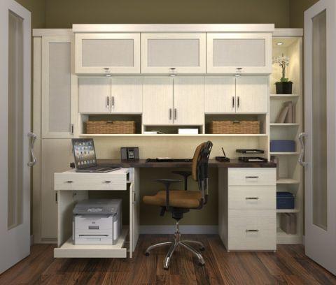 书房橱柜简欧风格装修效果图