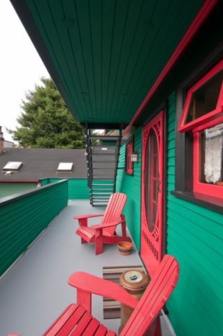 阳台窗台简欧风格装饰图片
