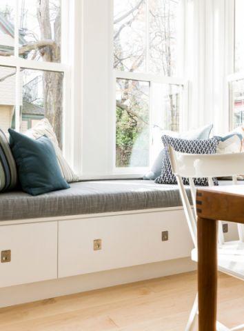 厨房飘窗简欧风格装饰图片