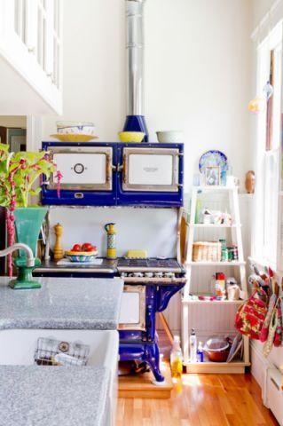 厨房隔断简欧风格装饰效果图