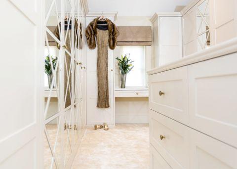 玄关橱柜简欧风格装潢图片