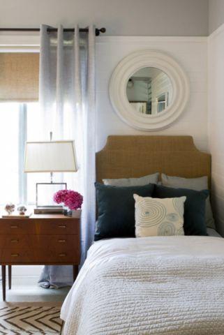 卧室茶几简欧风格装潢图片