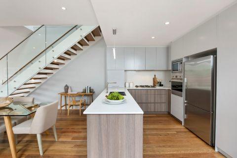 厨房白色细节简欧风格装修效果图