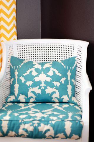 卧室蓝色细节混搭风格装潢图片