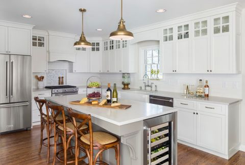 厨房黄色细节混搭风格装饰效果图