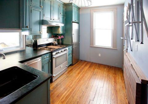 厨房吊顶混搭风格装潢设计图片