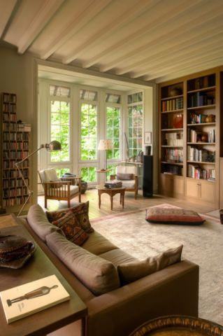 客厅橱柜混搭风格效果图