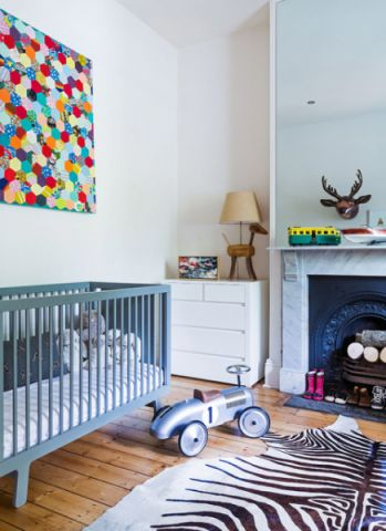 儿童房细节混搭风格装潢设计图片