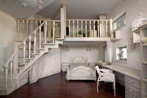 儿童房楼梯混搭风格装修效果图