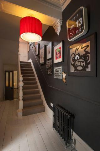 楼梯混搭风格装修效果图