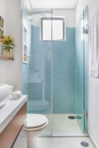井井有条混搭风格浴室装修效果图