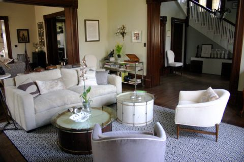 客厅细节混搭风格装饰效果图