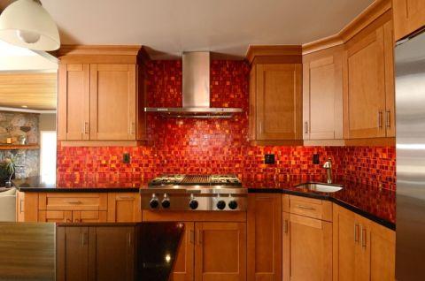 厨房橱柜混搭风格装修设计图片