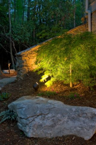 花园细节混搭风格装饰图片