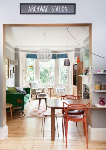 客厅细节混搭风格装潢设计图片