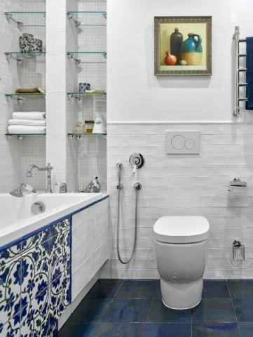奢华混搭风格浴室装修效果图