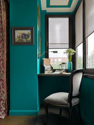 书房细节混搭风格装饰图片