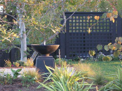 清新自然混搭风格花园装修效果图
