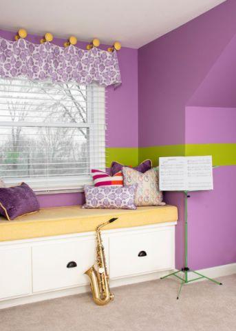 完美舒适混搭风格儿童房装修效果图